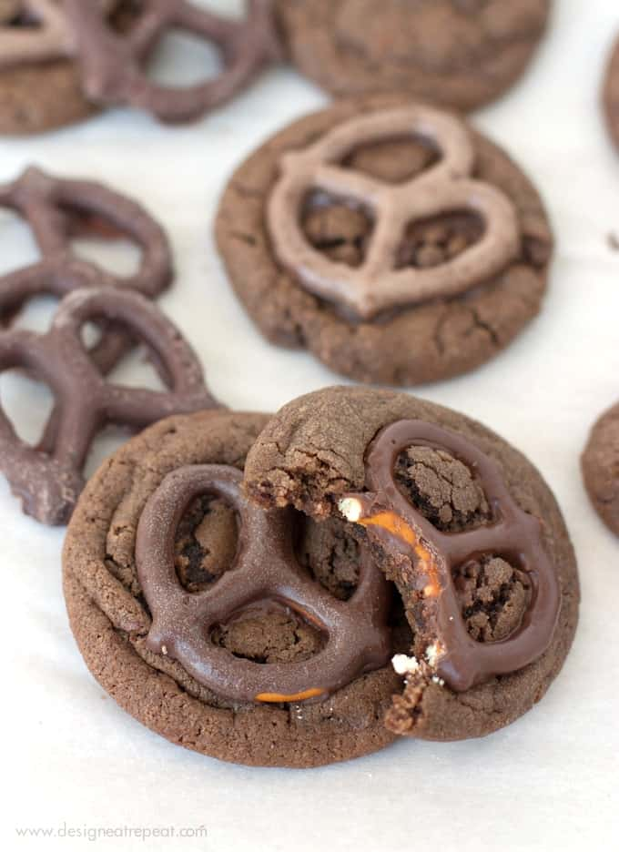Melt-in-Your-Mouth-Chocolate-Dipped-Pretzel-Cookies-from-Design-Eat-Repeat copy