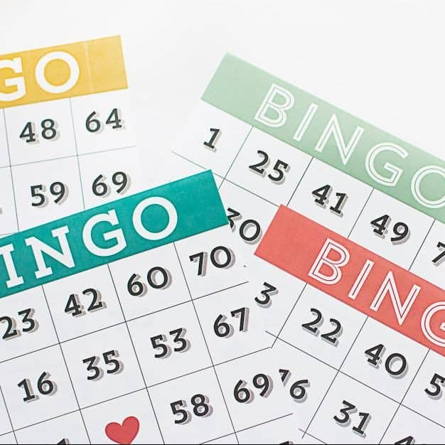 Number Bingo for Ages 8+