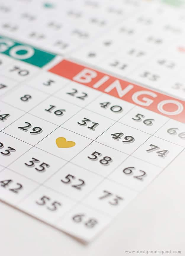 Printable & Cute Bingo Cards - Download for Free!