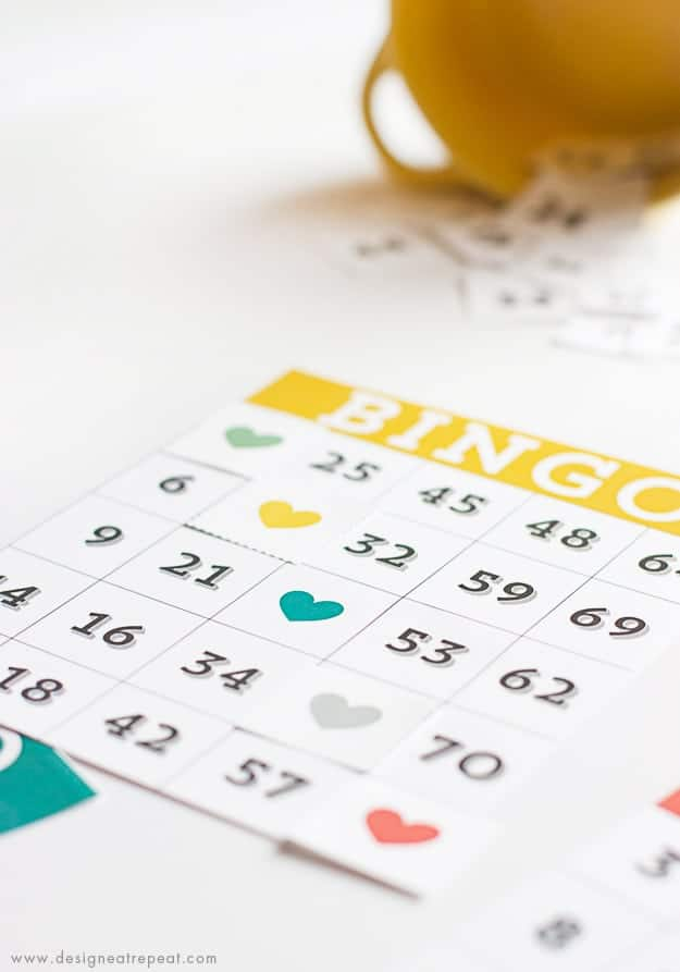 Printable & Cute Bingo Cards - Free Download