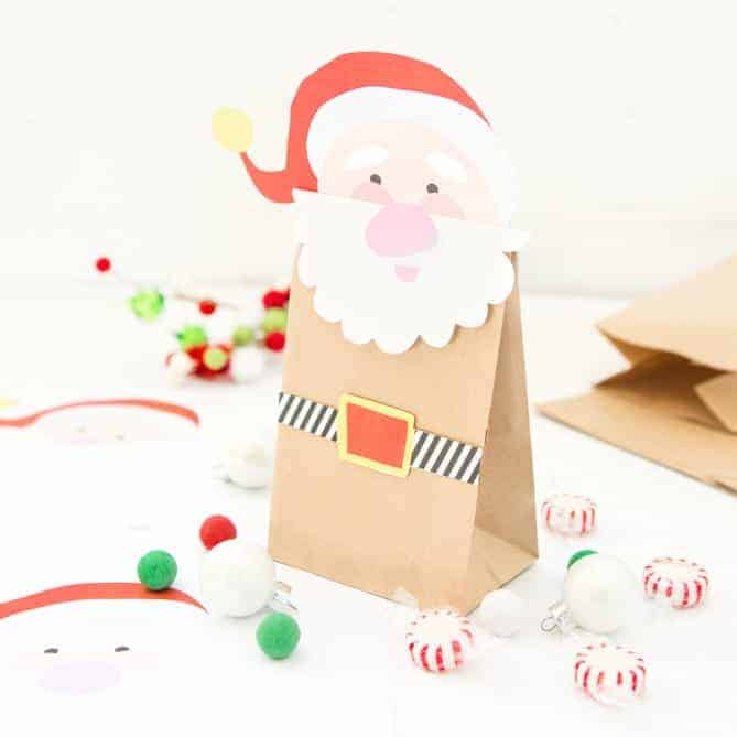 Printable Santa Treat Bags