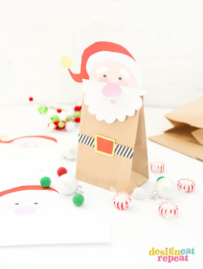 Printable Santa Treat Bag