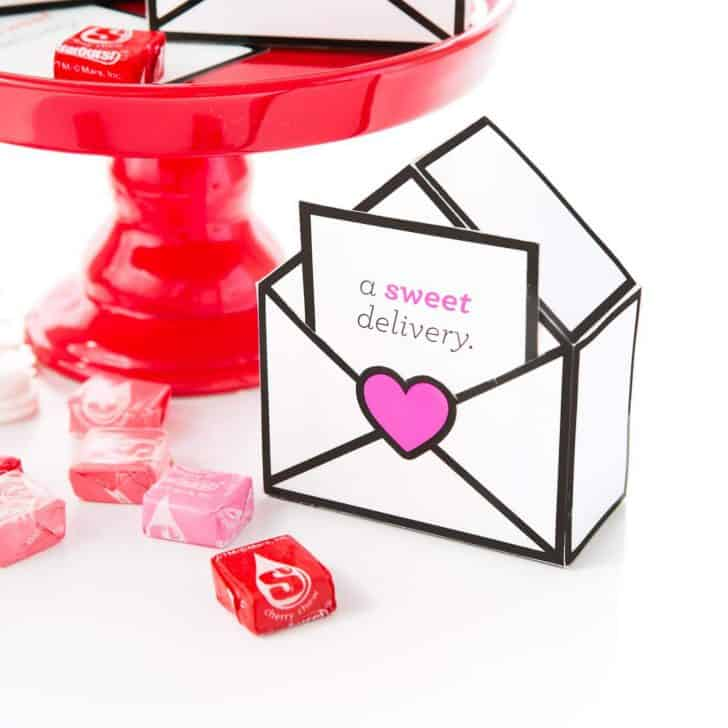 Printable Valentines Gift Boxes