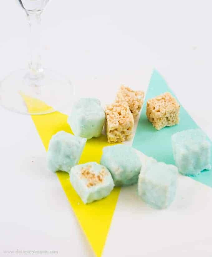 Rice Krispy Fondue Party Ideas!