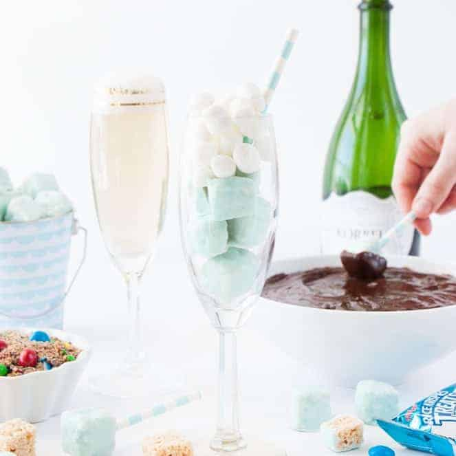DIY Rice Krispies Treats Fondue Party!