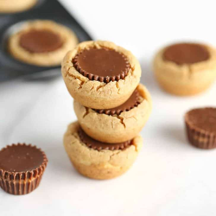 Soft Reeses Peanut Butter Cup Cookies
