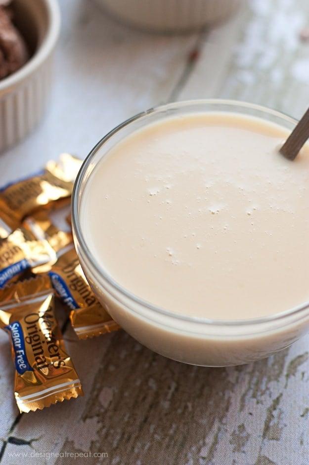 Sugarfree Werthers Caramel Ice Cream Sauce