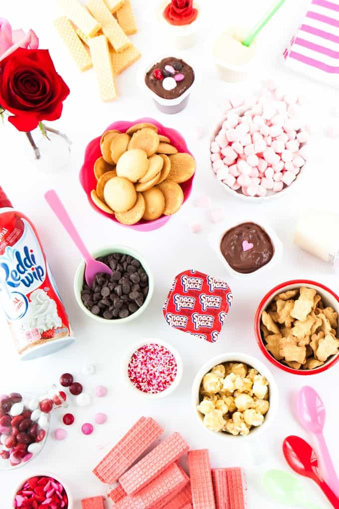 This blog shows you all the toppings you need to create a fun DIY pudding cup bar!