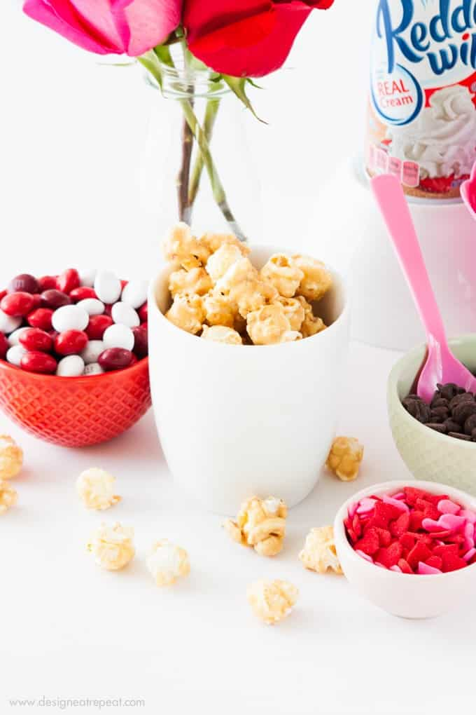 This site has fun topping ideas to add to pudding cups!