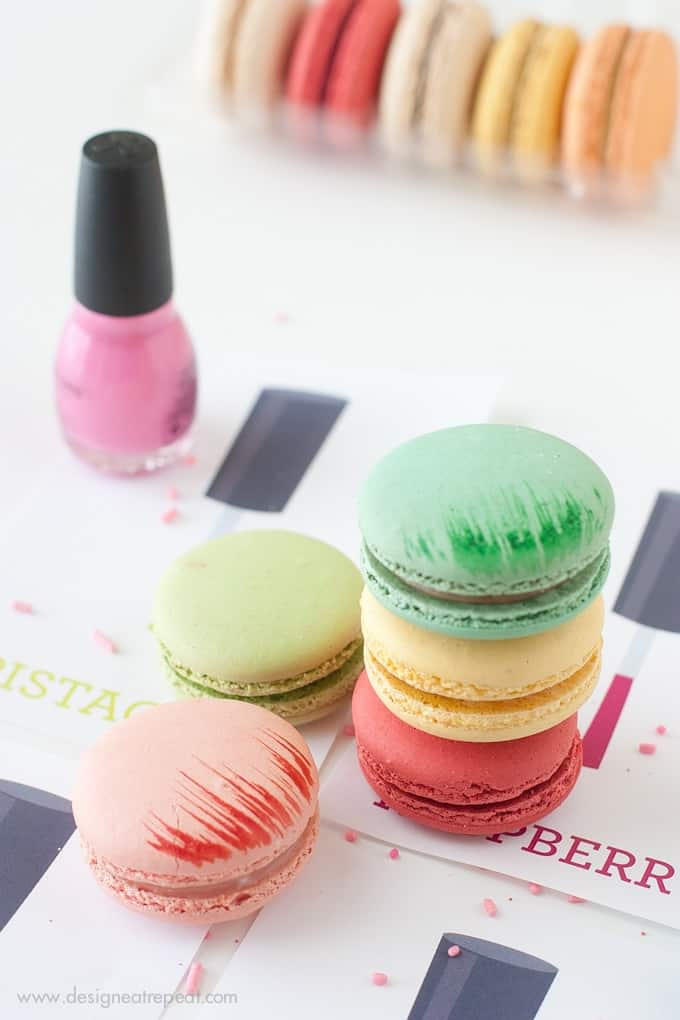 Throw a DIY Nail Polish party with these free printables from Design Eat Repeat