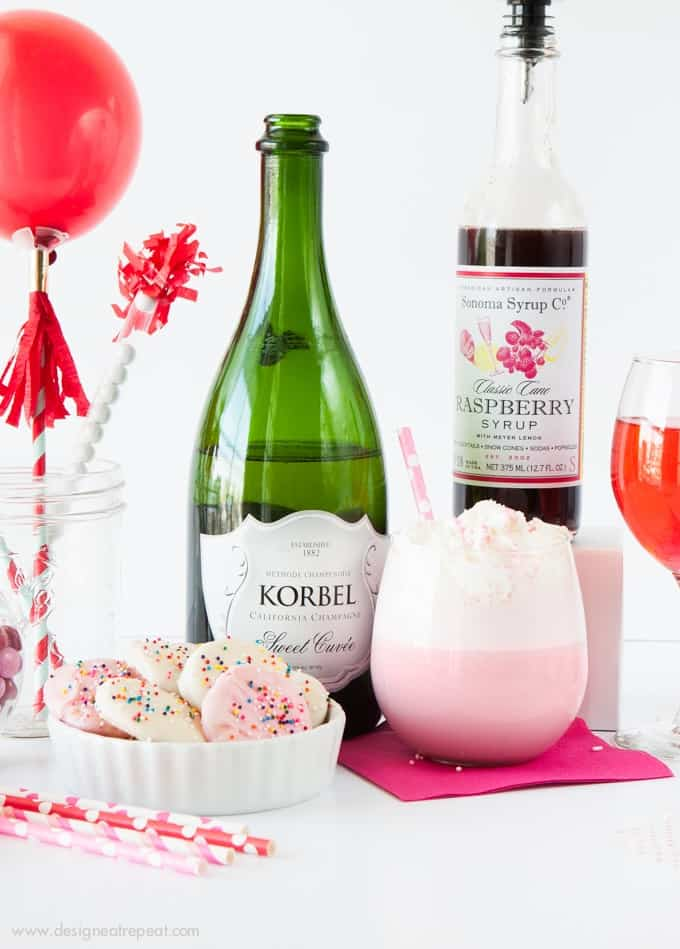 Throw a festive party with these festive Valentines Day ideas! How fun!