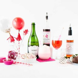 Throw a festive party with these festive Valentines Day ideas and recipes! Love these ideas!