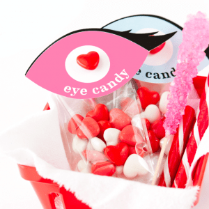 Valentines Day Eye Candy Party Favor