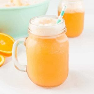 Whip up a batch of this Orange Sherbet Punch in less than 15 minutes! I love sherbet punch because it's packed with flavor and only requires a few ingredients!