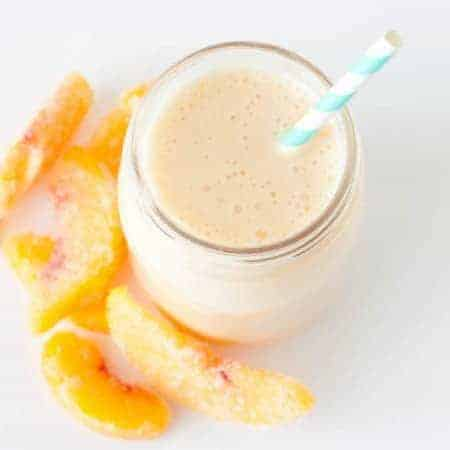 Yogurt Peach Smoothie