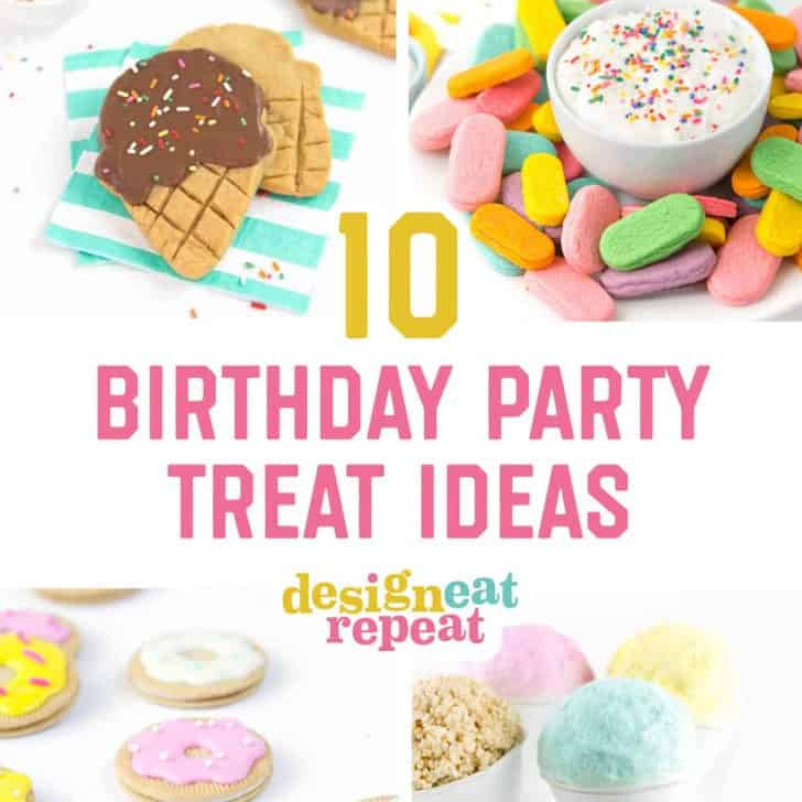 10 Easy Birthday Party Treats