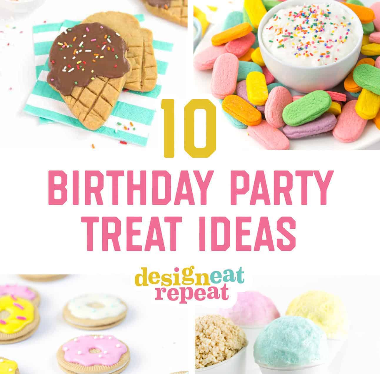 10 Cute & Easy Birthday Party Treats On A Budget