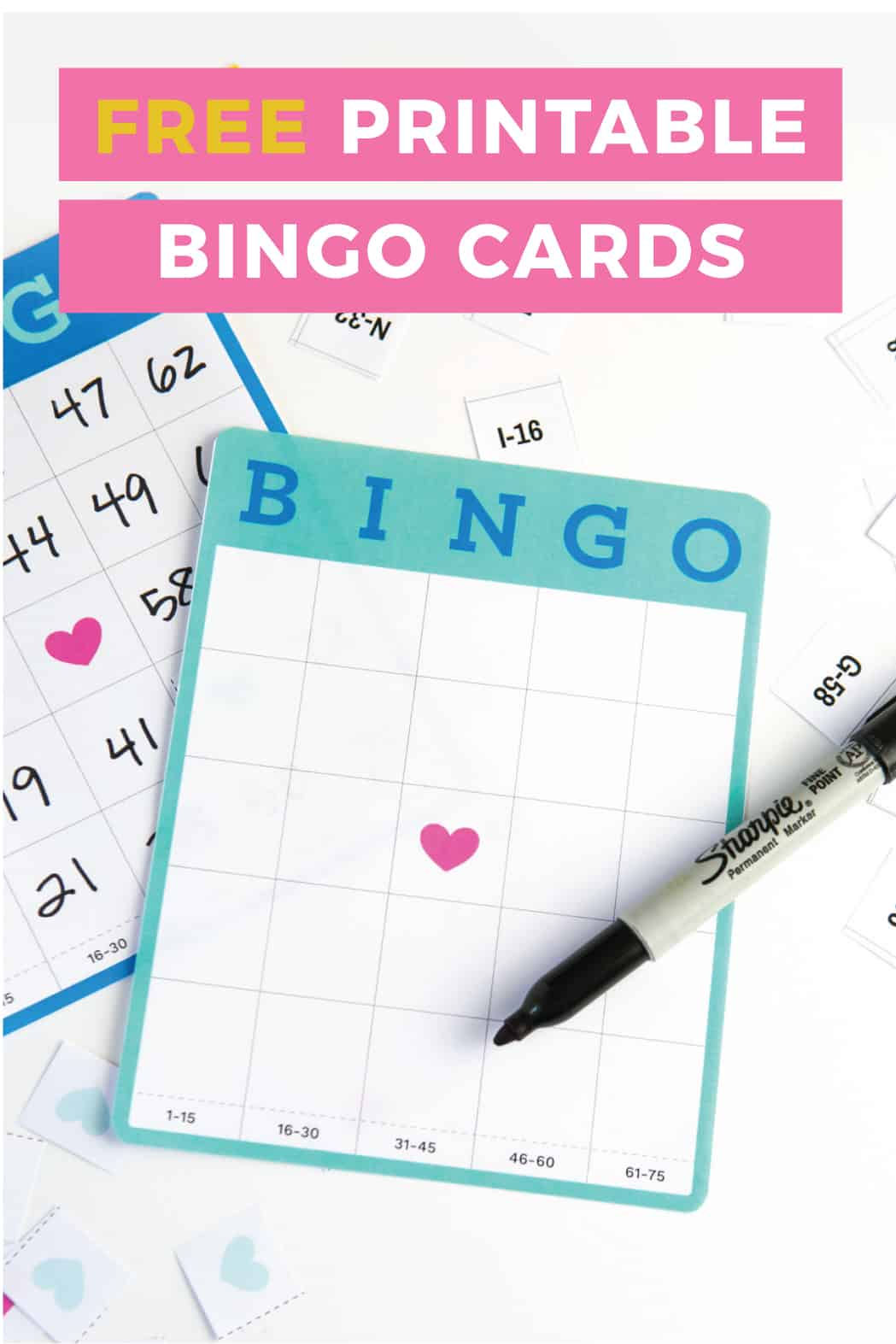 Need a party game for a large crowd?! Blank bingo cards mean you can play with an unlimited number of people!