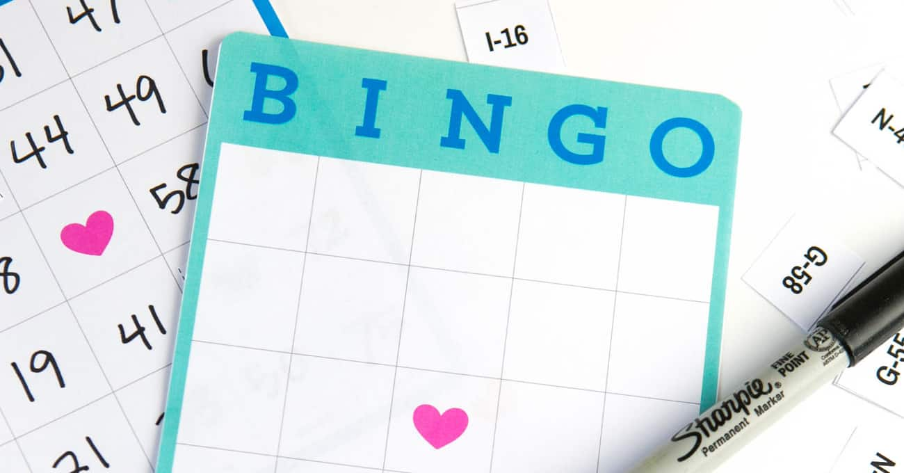 Free Printable Blank Bingo Cards - Design Eat Repeat Within Blank Bingo Template Pdf