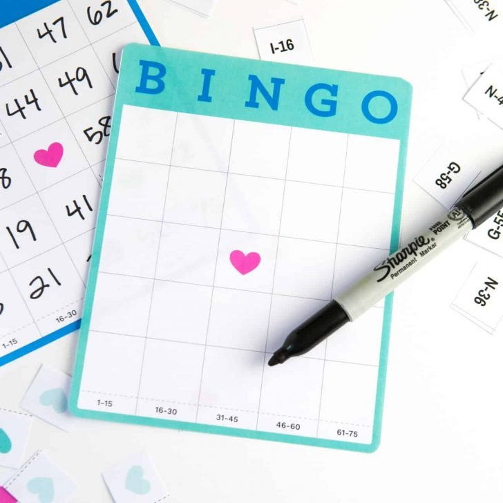 Printable Blank Bingo Cards