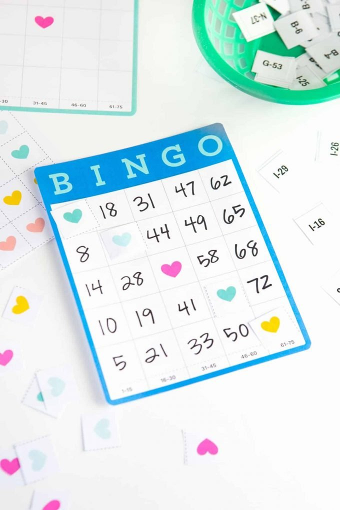 graphic regarding Printable Bingo Cards 1-75 identified as No cost Printable Blank Bingo Playing cards - Style Try to eat Repeat