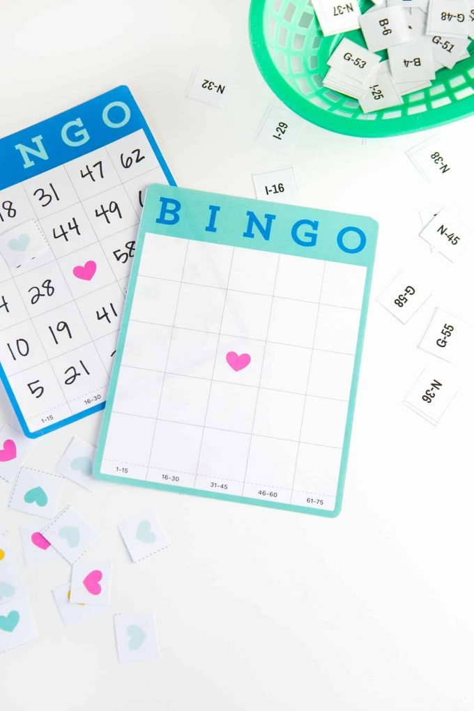 graphic about 25 Printable Halloween Bingo Cards identified as Absolutely free Printable Blank Bingo Playing cards - Style Take in Repeat