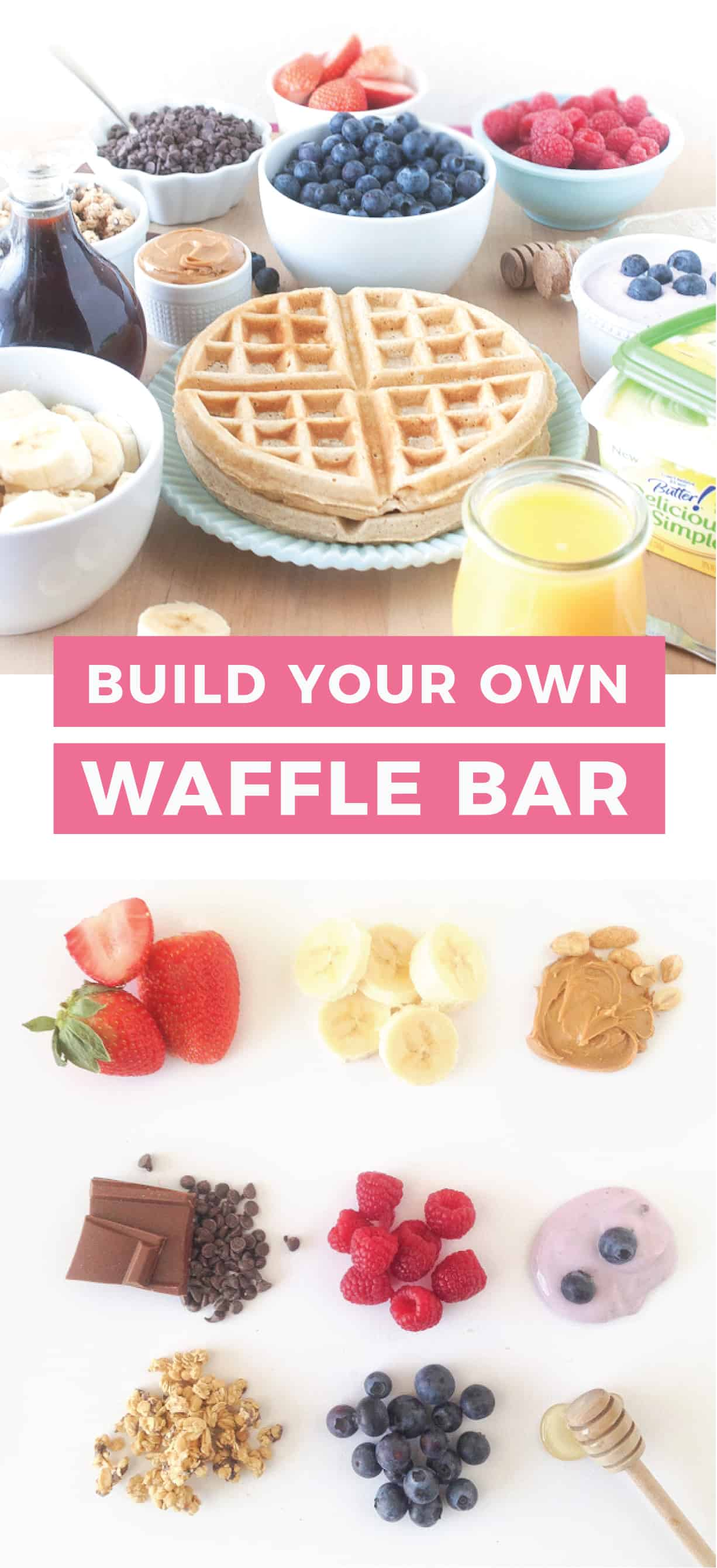 Build Your Own Waffle Bar!
