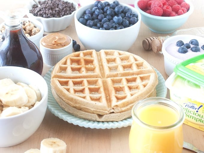 Build Your Own Waffle Bar - Design Eat Repeat