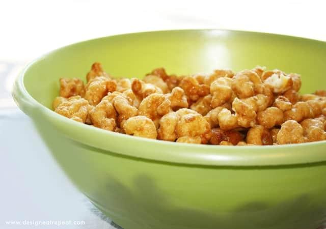how to make caramel puffcorn