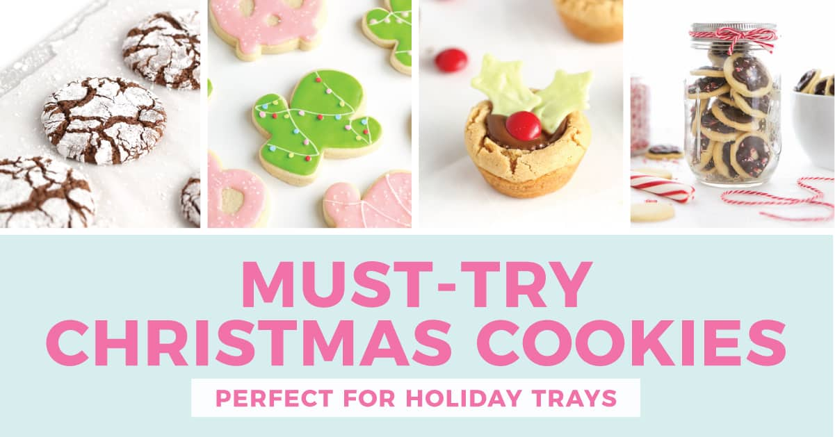5 Must Try Christmas Cookie Recipes Design Eat Repeat