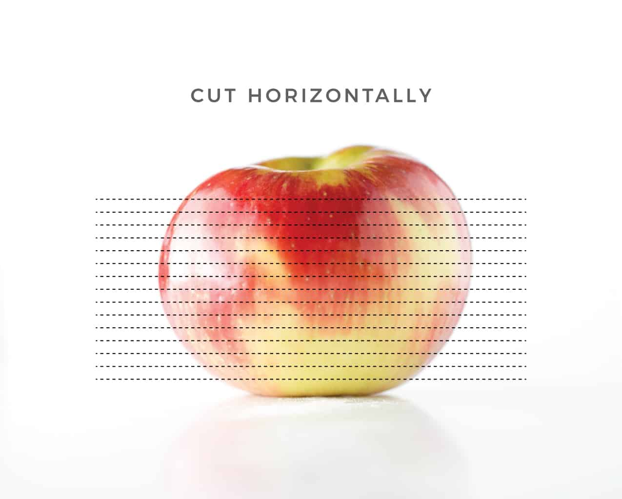 How to cut apples for apple chips