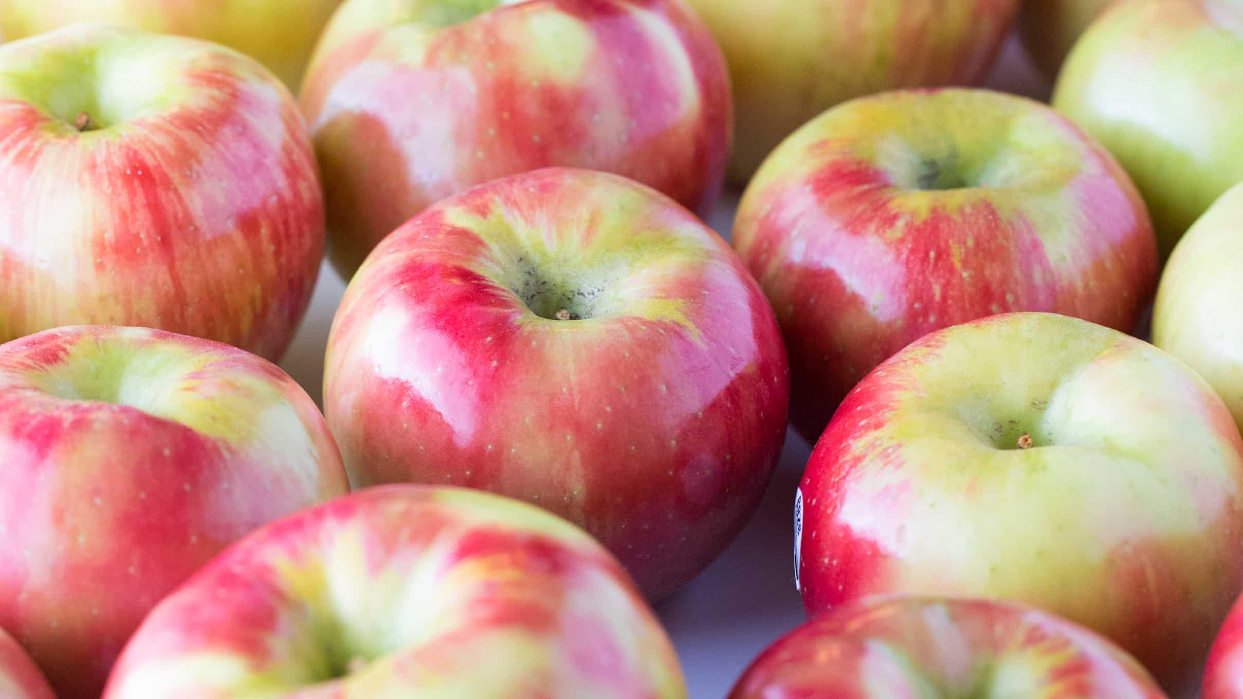 Honeycrisp apples for baked apple chips