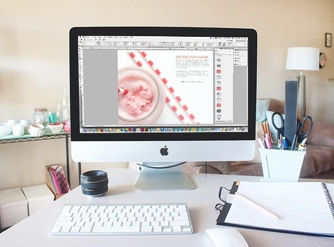 What a great post of 5 Graphic Design Classes you can take online! This post was written by Melissa from Design Eat Repeat (blogger & Graphic Designer) and is filled with some great suggestions to improve your design chops!