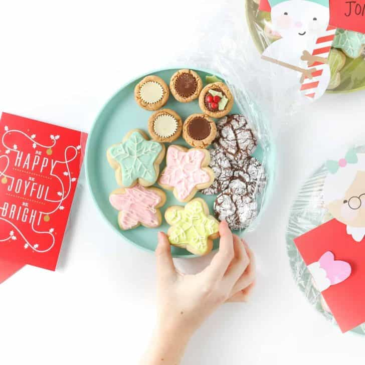 3 DIY Cookie Tray Ideas + Free Printables!