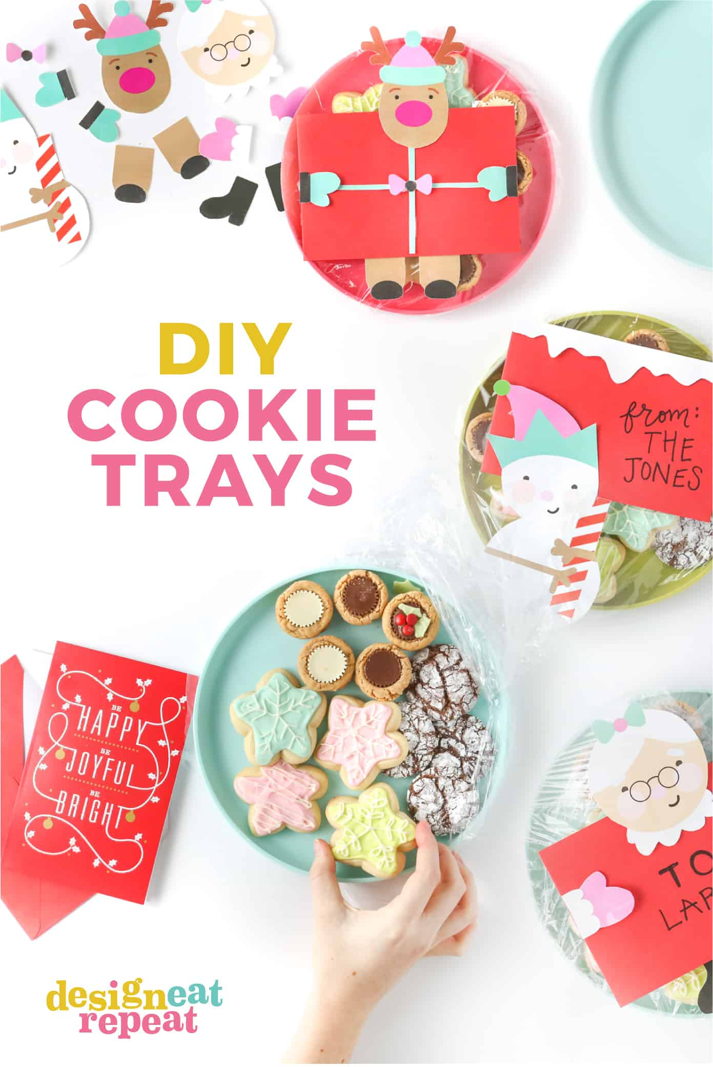 graphic about Diy Printables called 3 Do it yourself Cookie Tray Plans + Totally free Printables!