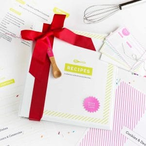 Free Printable Recipe Binder Kit!