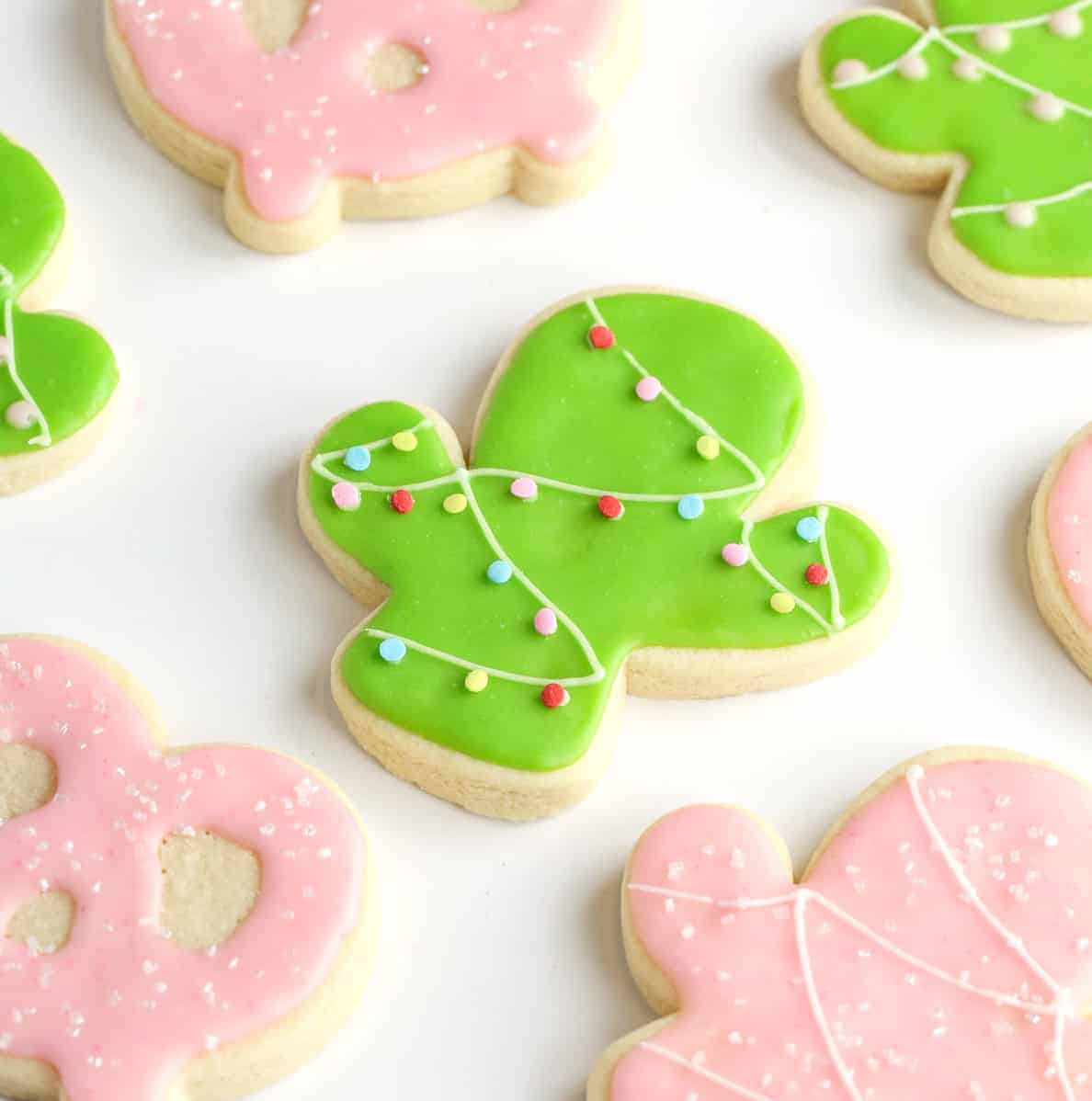 Christmas Cookie Frosting.Easy Sugar Cookie Icing Recipe Without Eggs