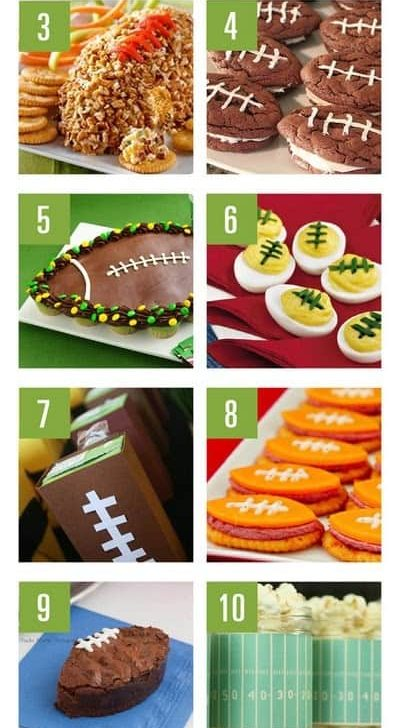 Football Game Day Food & Treat Ideas