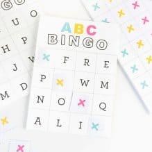 Free Printable Alphabet Bingo