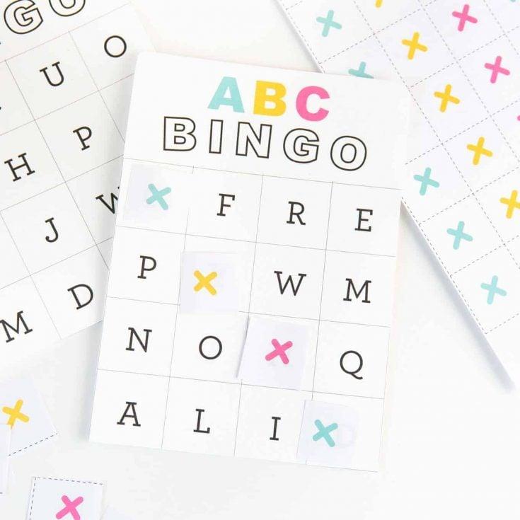 Alphabet Bingo for Kids 6+