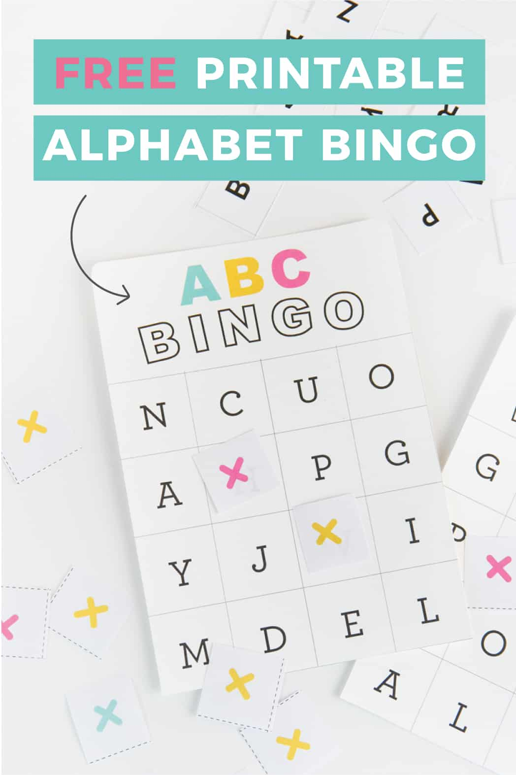 Help kids learn the alphabet by printing out these Free Printable Alphabet Bingo Cards. This set includes 4 set of cards using uppercase letters, allowing 4 children to play at once. The design uses minimal ink and can be printed on 8.5 x 11 paper.
