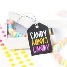 Printable Candy Halloween Tags