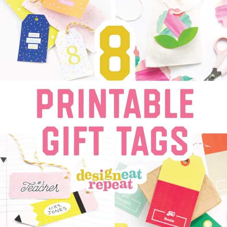 8 Free Printable Gift Tags