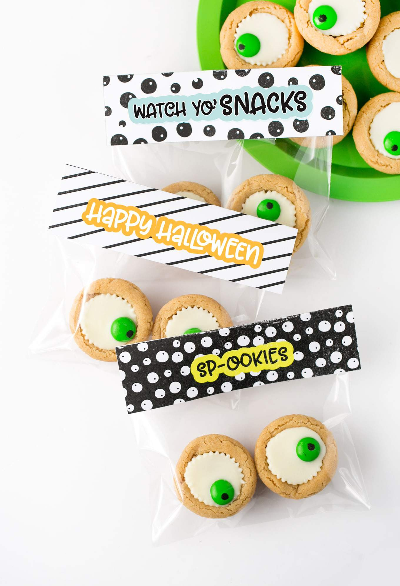 image about Free Printable Bag Toppers identified as Halloween Deal with Bag Toppers Free of charge Printable - Style Try to eat Repeat