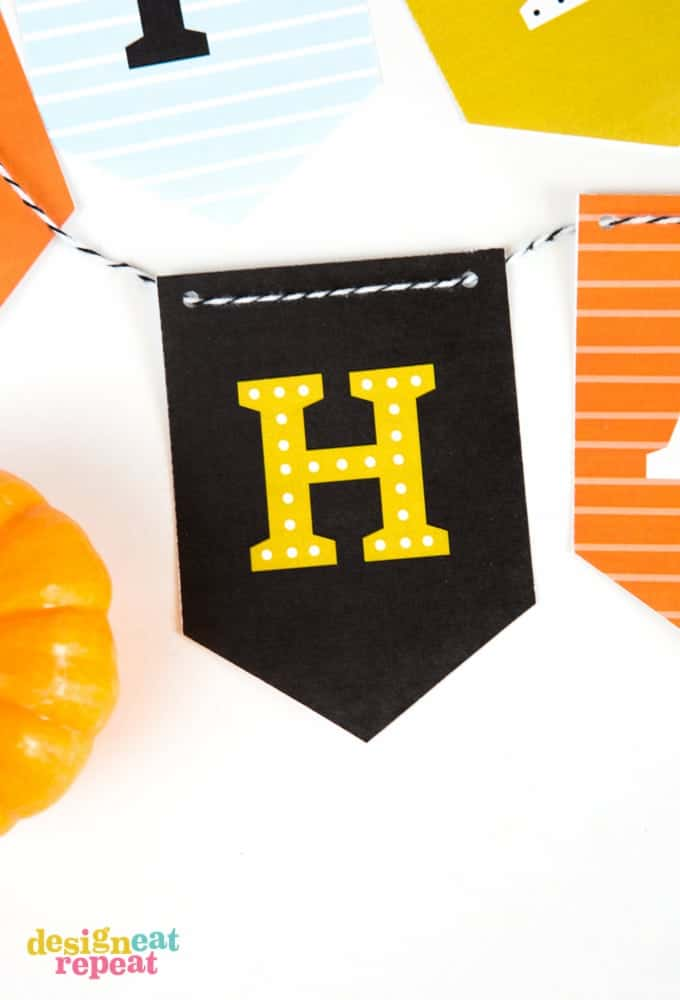 image regarding Printable Halloween Banners identified as Absolutely free Printable Halloween Banner