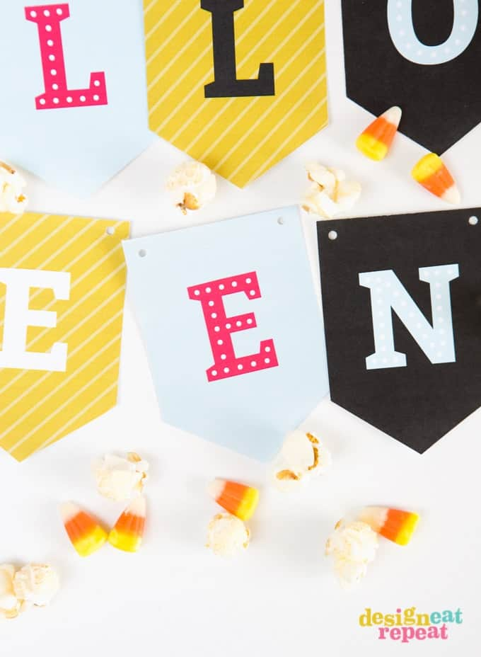 photograph relating to Happy Halloween Banner Printable named Absolutely free Printable Halloween Banner