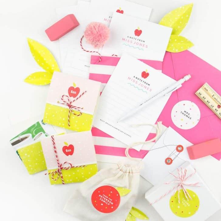 3 Free Printable Teacher Gift Ideas
