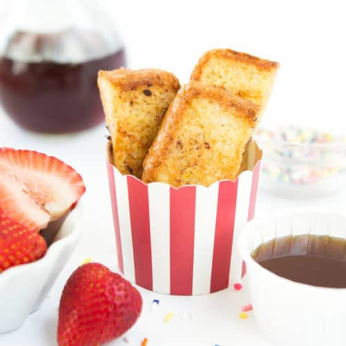 Easy French Toast Sticks - Design Eat