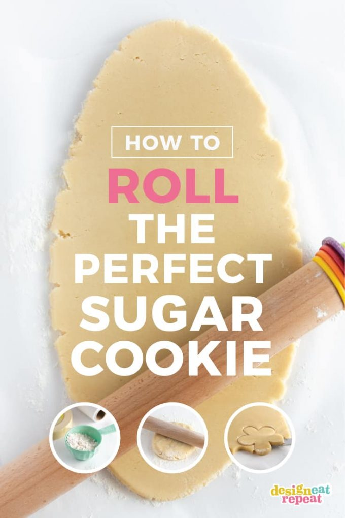 How to Roll Out Sugar Cookies with Step by Step Instructions