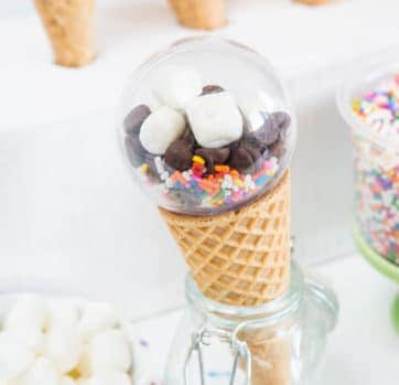 Ice Cream Party Favors!